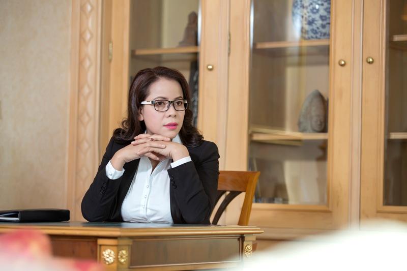 Nữ doanh nhân Nguyễn Thị Dung